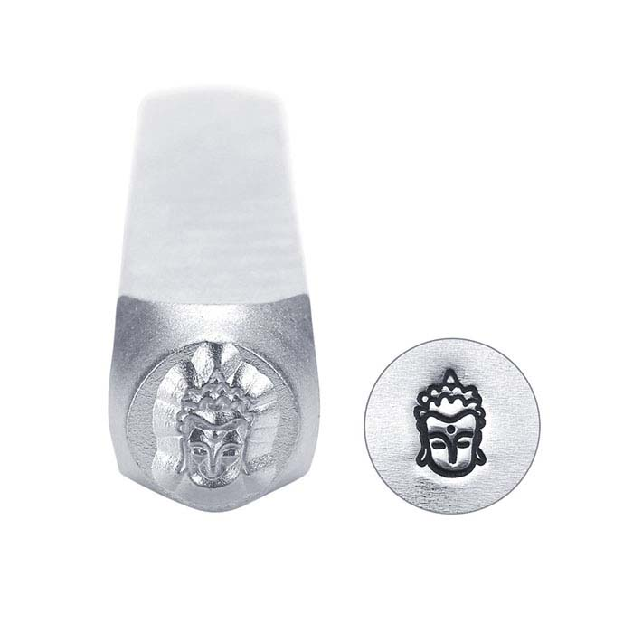 ImpressArt® Buddha Head Design Stamp, 6mm Character