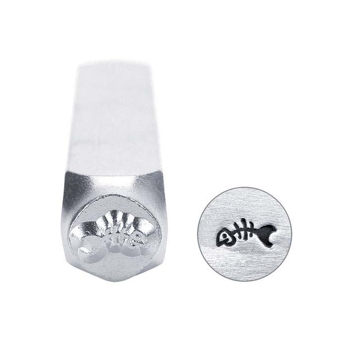 ImpressArt® Fishbone Design Stamp, 6mm Character