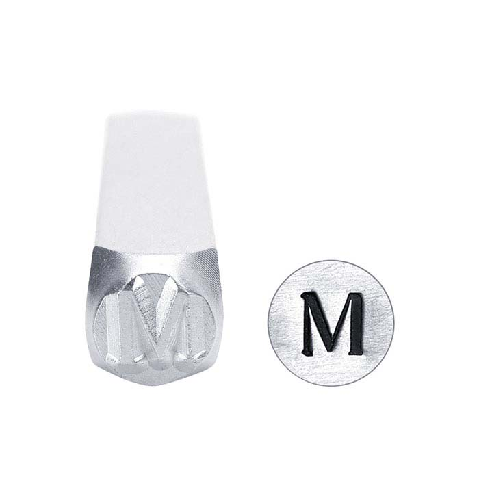 "ImpressArt® Greek Letter ""Mu"" Design Stamp, 6mm Character"