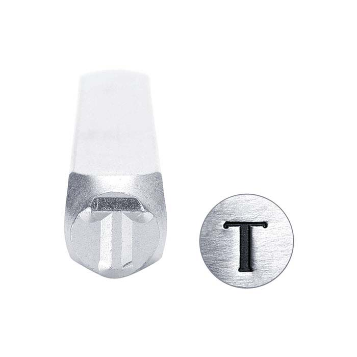 "ImpressArt® Greek Letter ""Tau"" Design Stamp, 6mm Character"