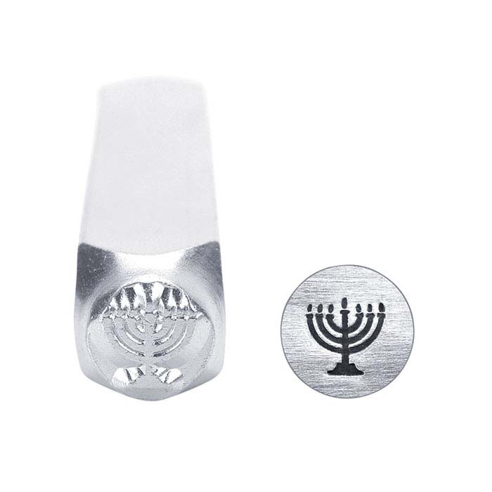 ImpressArt® Menorah Design Stamp, 6mm Character