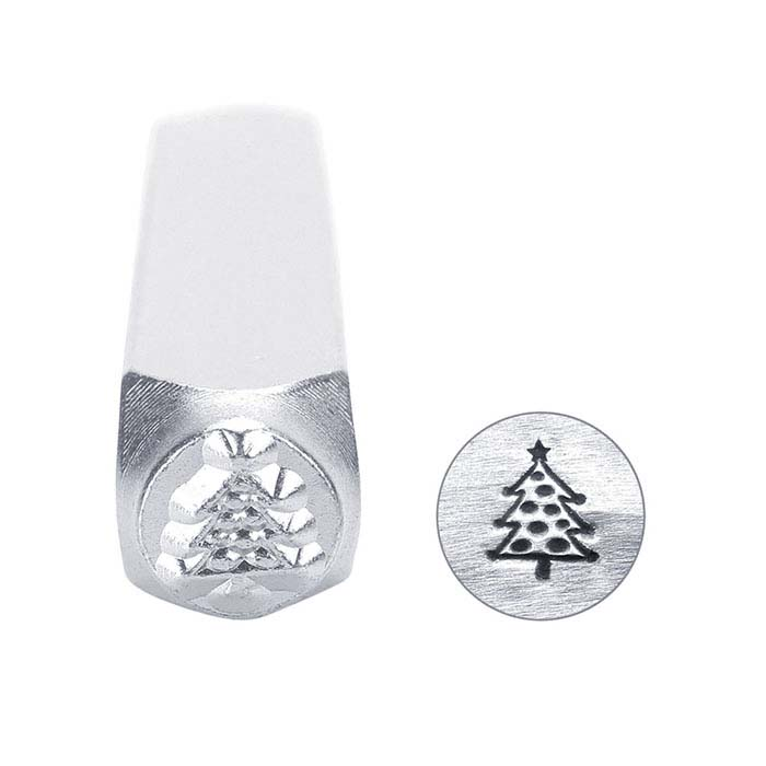 ImpressArt® Christmas Tree Design Stamp, 6mm Character
