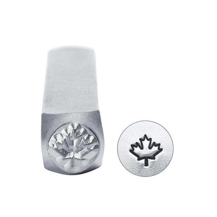 ImpressArt® Maple Leaf Design Stamp, 6mm Character