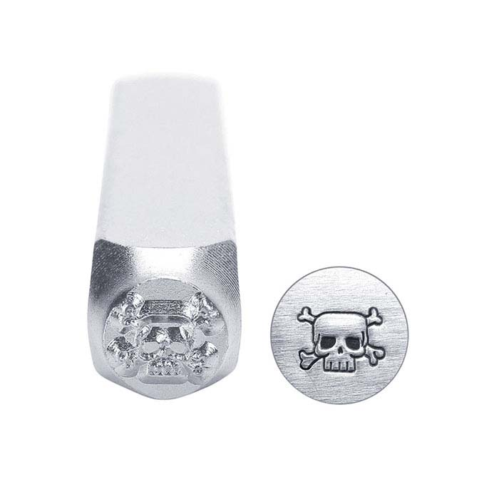 ImpressArt® Skull & Crossbones Design Stamp, 6mm Character