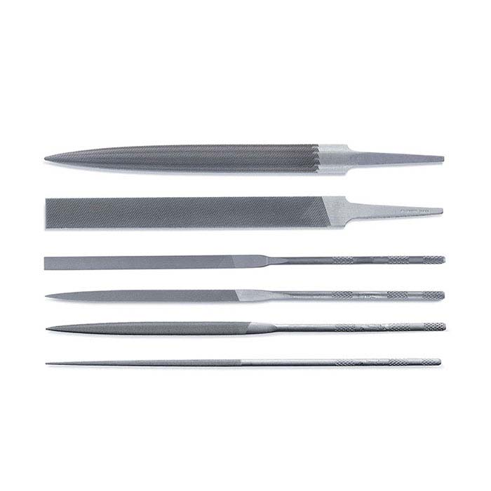 Friedrich Dick Hand File and Needle File Combination Set, #3, Set of 6