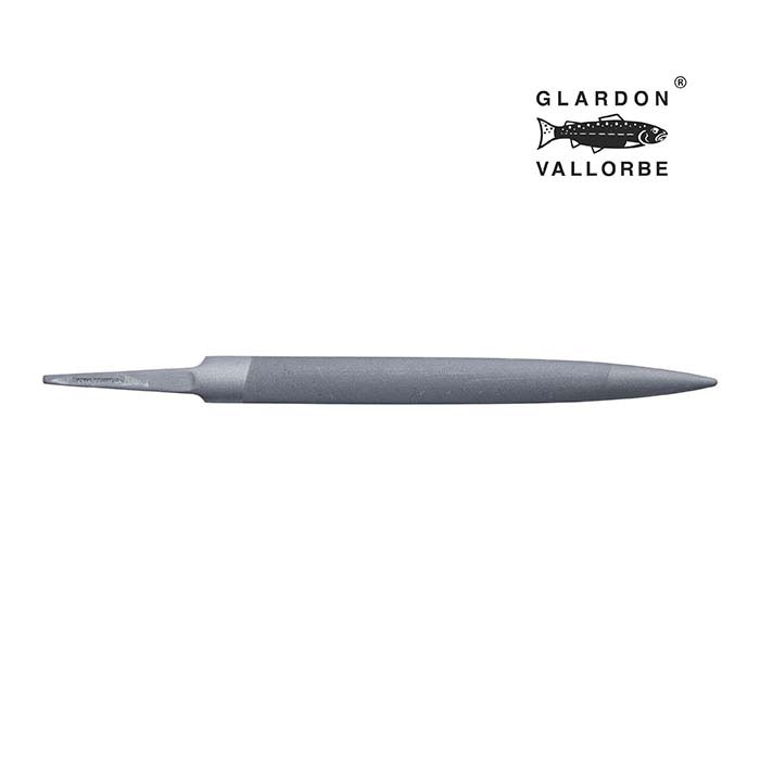 Glardon Vallorbe® Precision Half-Round Hand File, Swiss Cut #4