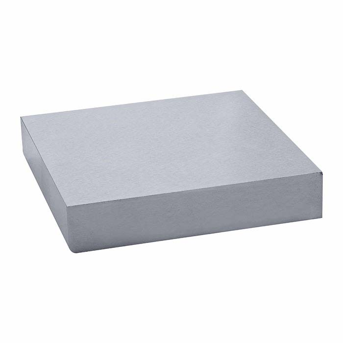 Premium Steel Bench Block, 100 x 100 x 20mm