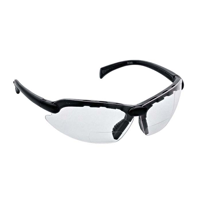 Bifocal 3.0 Diopter Magnifying Safety Glasses