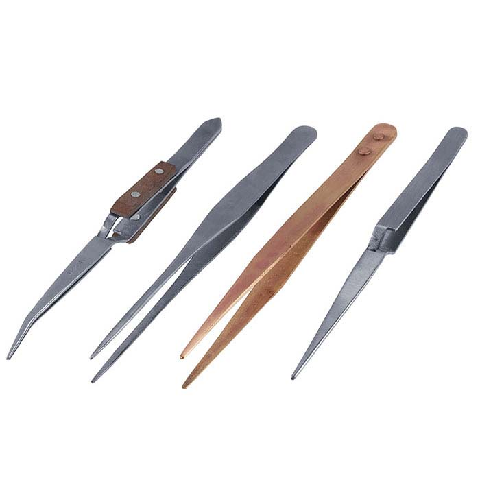 Soldering Tweezers, Set of 4