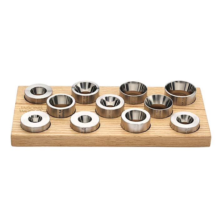 Jason's Works Coin Ring Reduction Die Set, 11 piece