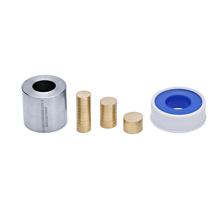 "Jason's Works Swedish Wrap 0.6"" and 0.9"" Die Coin Ring Kit"