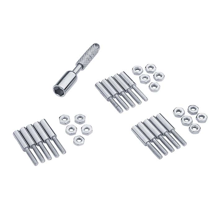 Artistic Wire® 3D Bracelet Jig Threaded Peg and Nut Set