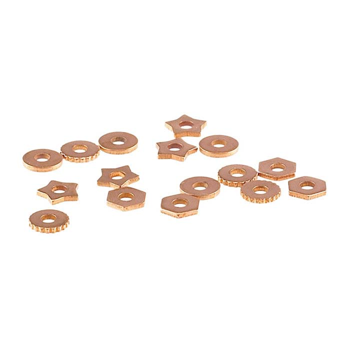 "Copper Rivet Accent Assortment for 1/16"" Crafted Findings Riveting Tool"