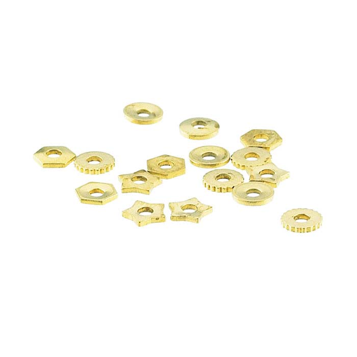 """Brass Rivet Accent Assortment for 1/16"""" Crafted Findings Riveting Tool"""
