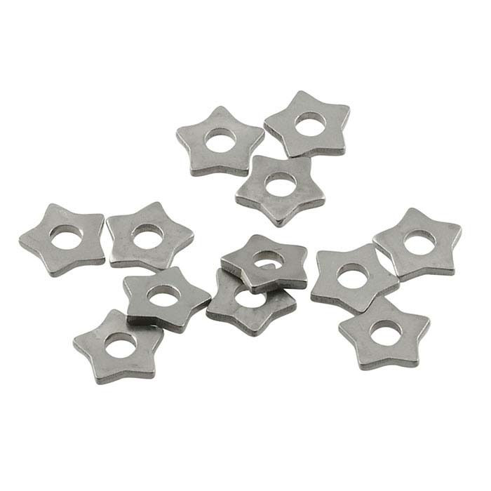 "Nickel Silver Star Rivet Accent for 1/16"" Crafted Findings Riveting Tool"