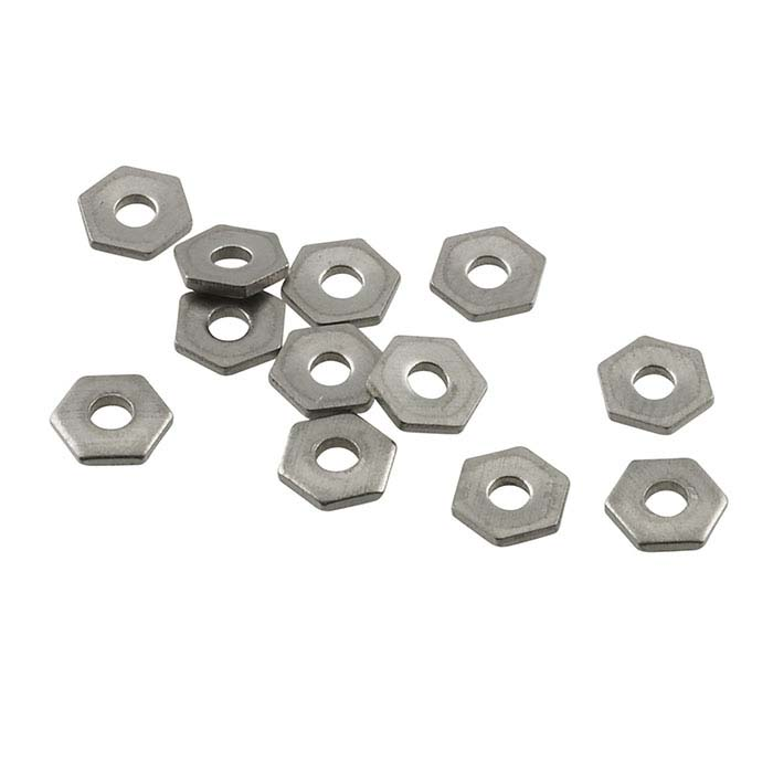 "Nickel Alloy Hexagon Rivet Accent for 1/16"" Crafted Findings Riveting Tool"