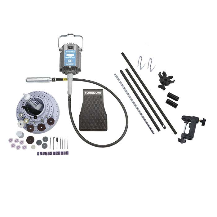 Foredom® SR Motor with H.30 Handpiece Flex Shaft System with Motor Hanger