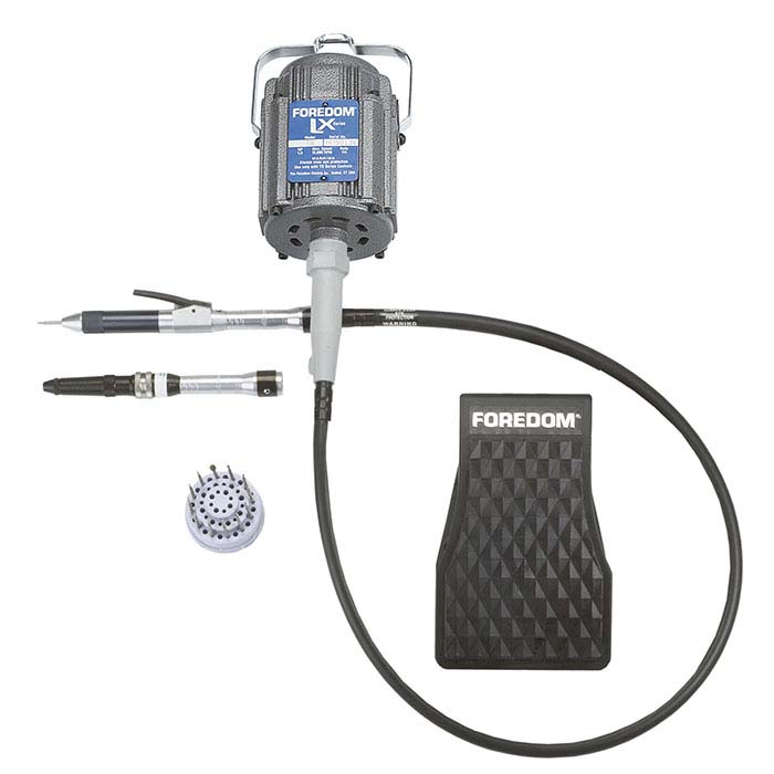 Foredom® K.2245 LX Professional Stone-Setter System with H.15 and H.18 Handpieces