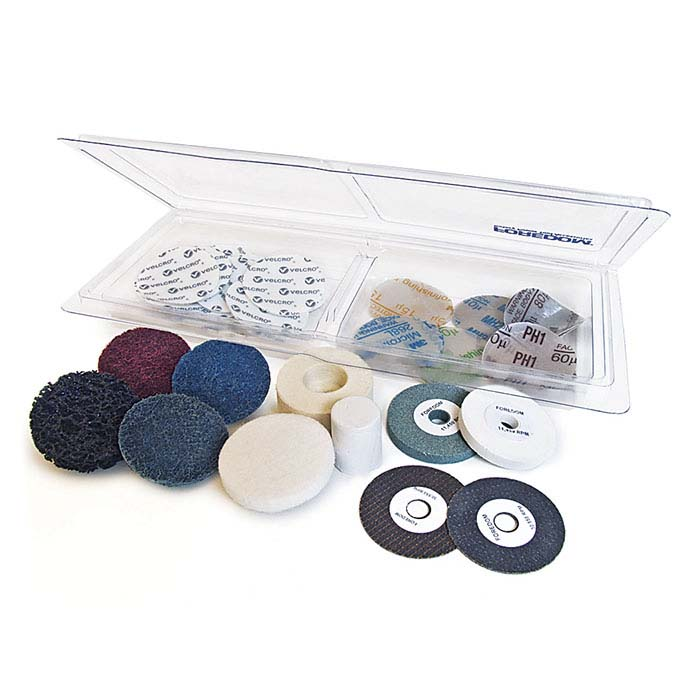Foredom® Metal-Working Accessory Kit for Foredom Angle Grinder Attachment