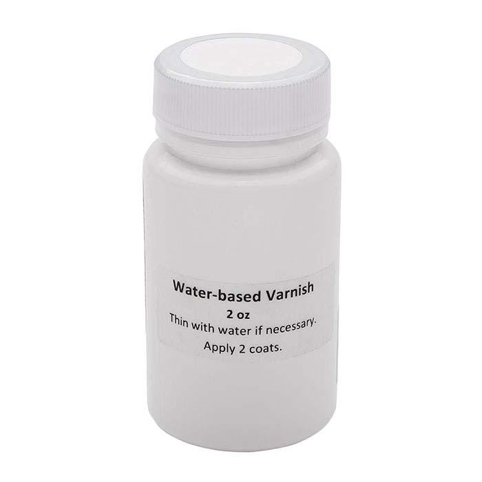 Water-Based Varnish for Electroforming