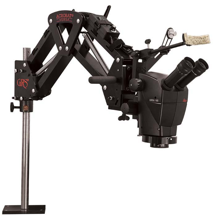 Leica® A60 Microscope Kit with Acrobat® Versa Stand
