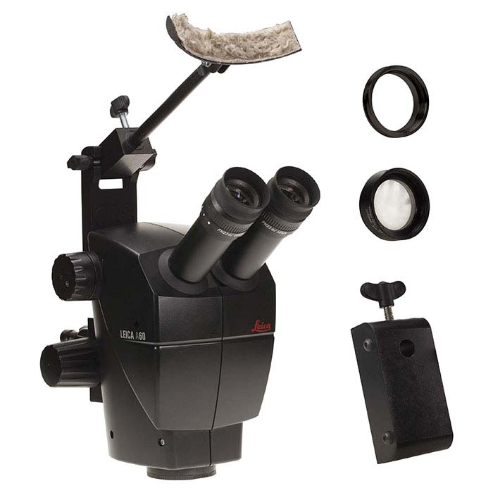 Leica® A60 Microscope with Acrobat® Stand Adapter