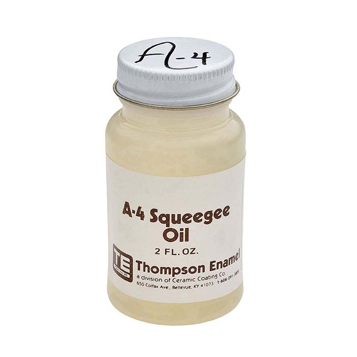 Thompson Squeegee Oil For Enameling