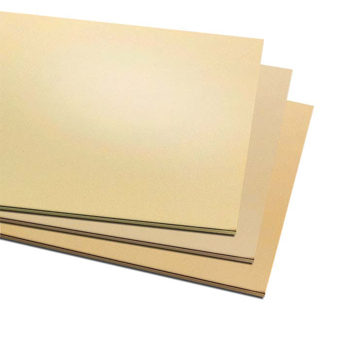 "Jeweler's Brass 6"" x 12"" Sheet, Dead-Soft"