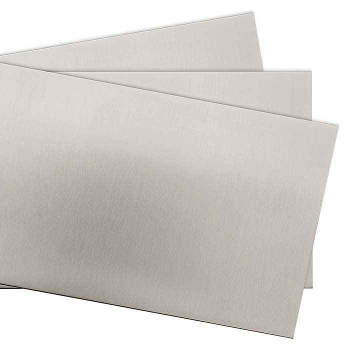 "Nickel Alloy 6"" x 12"" Sheet, Dead Soft"