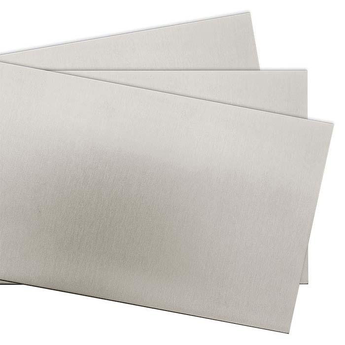 "Nickel Alloy 6"" x 12"" Sheet, 24-Ga., Dead Soft"