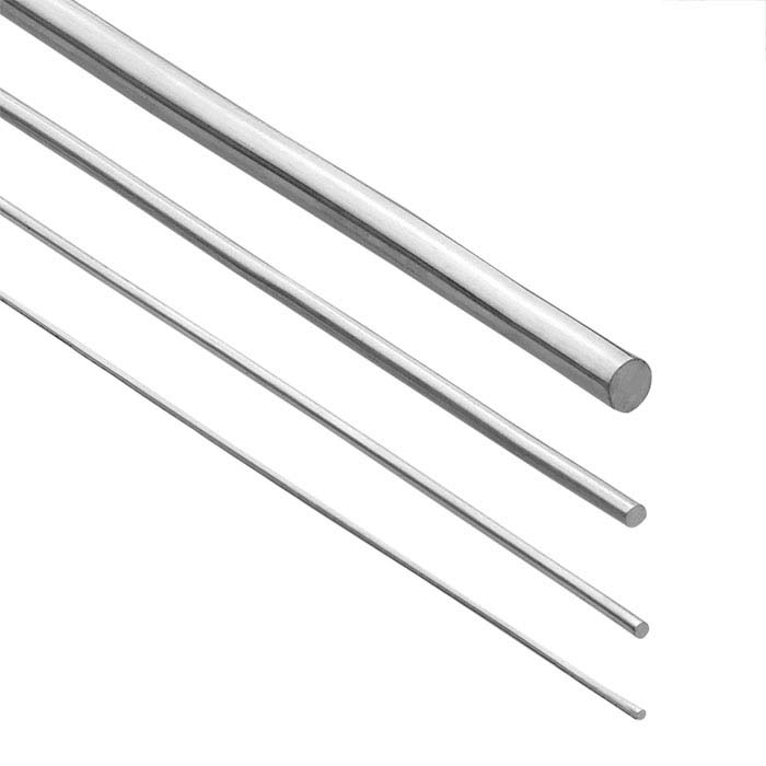 Nickel Alloy Round Wire, 1-Lb. Coil, Dead Soft