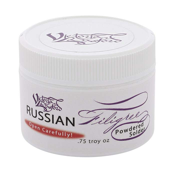 Silver Powdered Solder for Russian Filigree