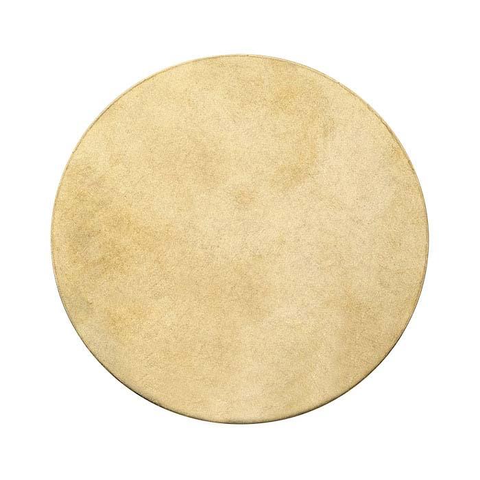 Jeweler's brass disc