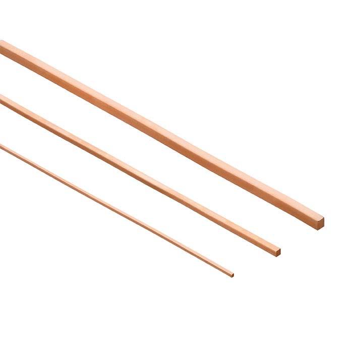 Copper Square Wire, 1-Lb. Spool, 18-Ga., Dead-Soft