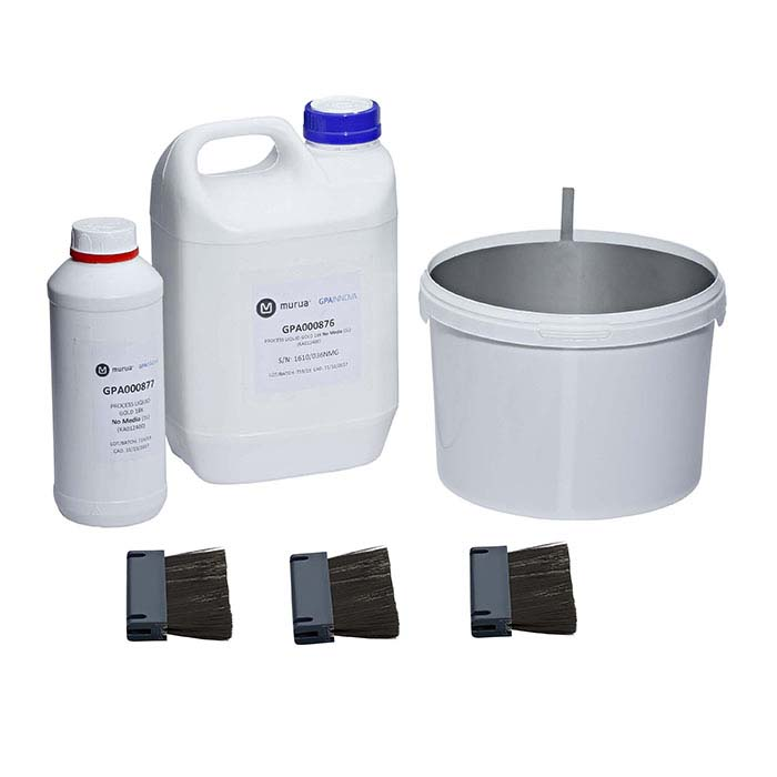 8–18K Gold Media-Free Processing and Rinse Solutions Kit for Murua Electro-Finishing System
