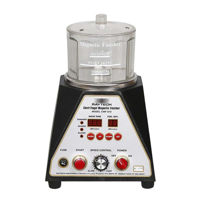 Raytech CMF-610 Centrifugal Magnetic Pin Finishing System