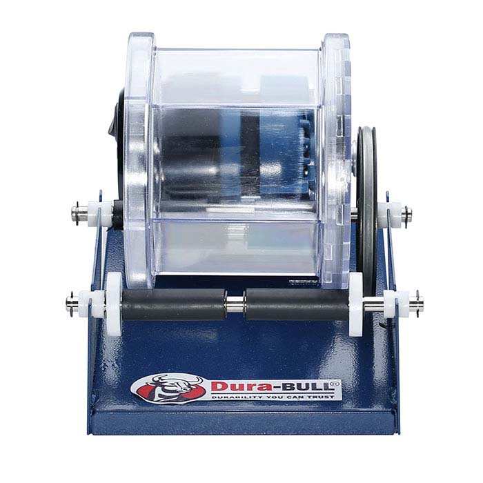 Dura-BULL® Single-Barrel Rotary Tumbler, 110-Volt