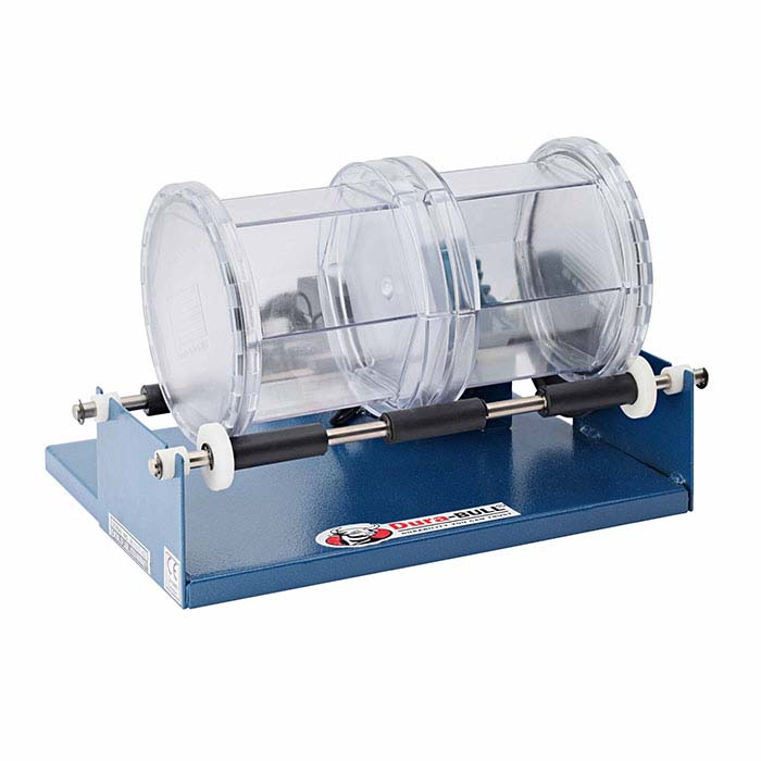 Dura-BULL® Double-Barrel Rotary Tumbler, 110-Volt