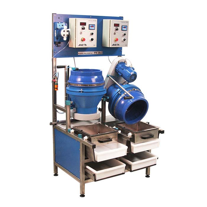 Avalon TE-18 combination wet and dry centrifugal tumbler