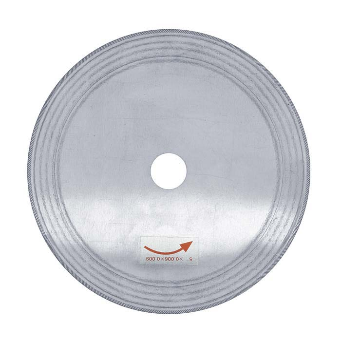 "Value Silver 5"" Diamond Saw Blade, .009"" Kerf"