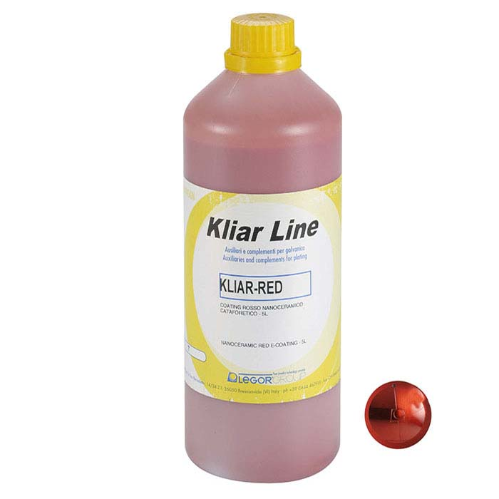 Kliar Nano-Ceramic E-Coating, Red