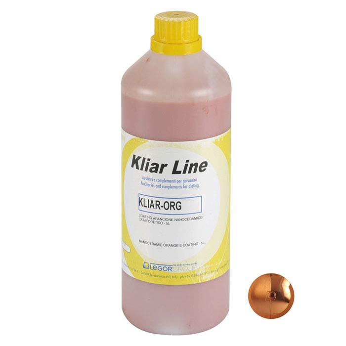 Kliar Nano-Ceramic E-Coating, Orange
