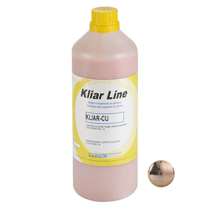 Kliar Nano-Ceramic E-Coating, Copper