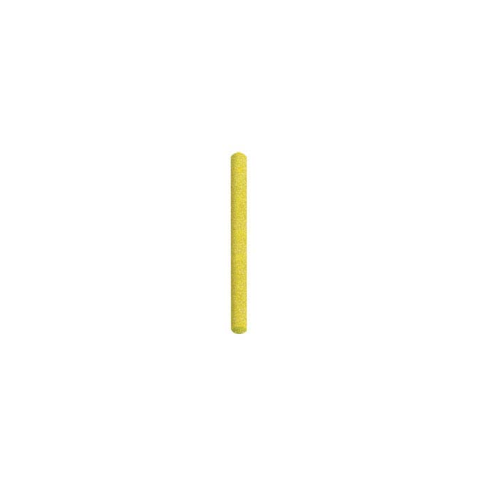 Dedeco® Sunburst® 2mm Polishing Pin, 80-Grit, Yellow
