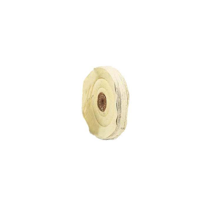 "Chamois Buffing Wheel, 5"" x 18-Ply"