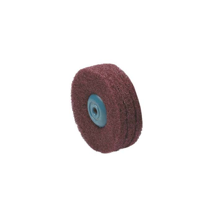"3M 4"" Satin-Finish Buffing Wheel, 3-Ply"