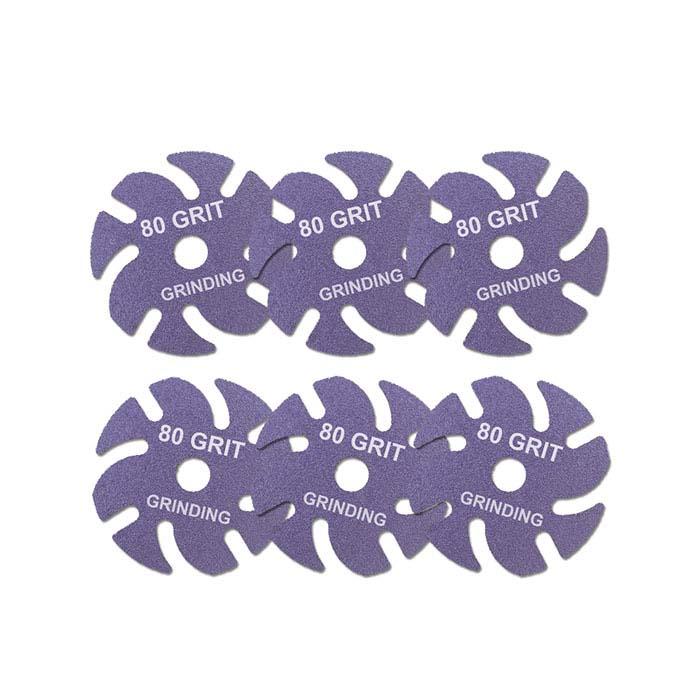 3M JoolTool™ Ceramic Purple Disc, 80-Grit