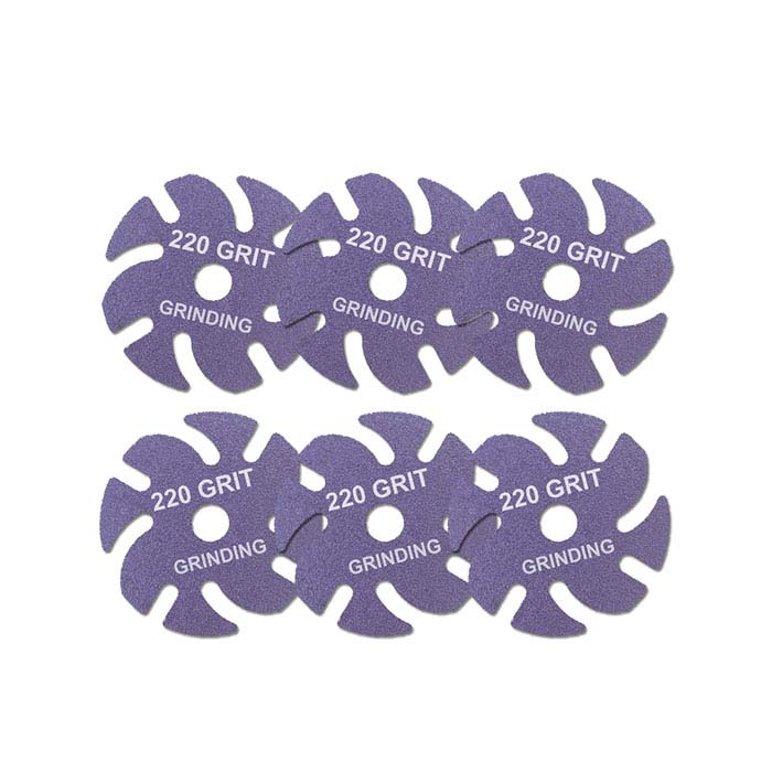 3M JoolTool™ Ceramic Purple Disc, 220-Grit