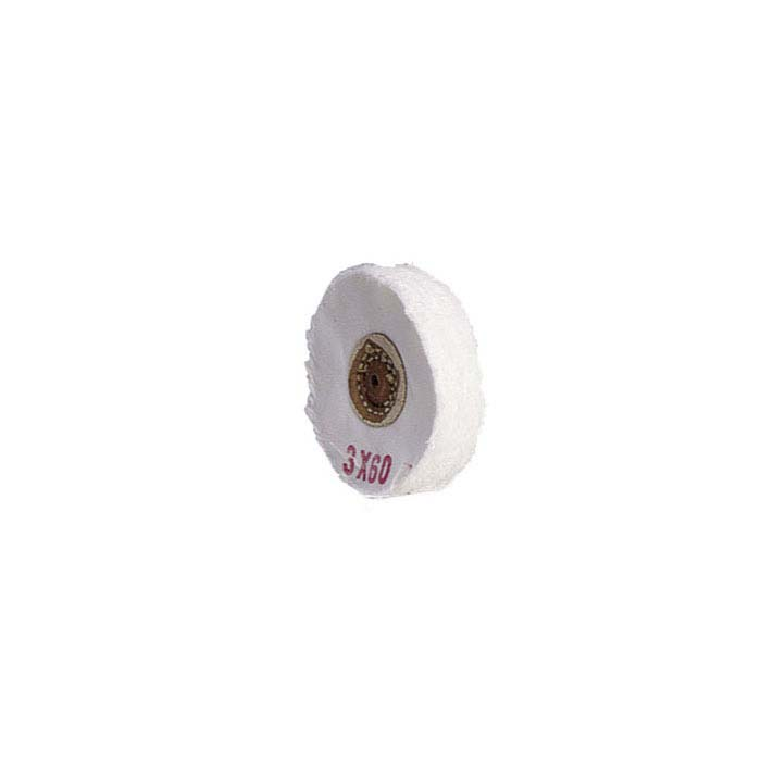 "Balloon Cloth Buffing Wheel, 3"" x 60-Ply"