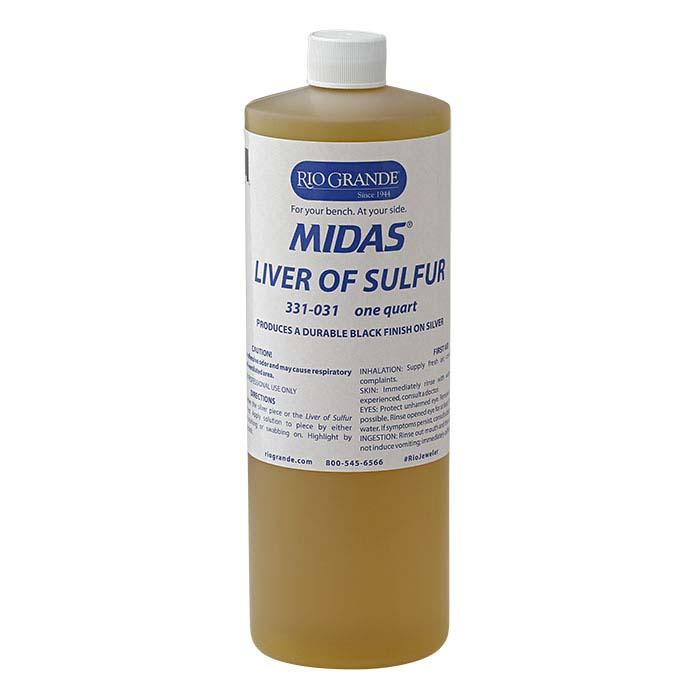 Midas® Liver of Sulfur, 1 Qt.